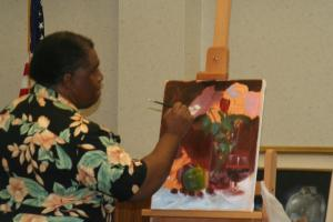 Dennis Lewis To Demonstrate In Oils